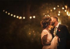 Colorful Bohemian wedding: Liz + Joshua | Real Weddings | 100 Layer Cake