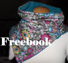Schlauchschal-Freebook aus Fleece Anja und Baumwolldruck Albella - Swafing AktuellSwafing Aktuell