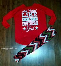 Kids - Ain't Nothing Like A Southern Girl Red WWW.GYPZRANCH.COM
