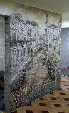 Mural Wall Art, Mural Painting, Wall Art Decor, Scrabble Tile Wall Art, Plaster Art, Wall Art For Sale, Illusion Art, Wall Sculptures, Large Wall Art