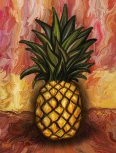 Feng Shui Pineapple
