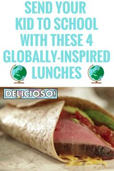 Pack the flavors of the world in your kid's lunchbox with these lunch ideas >> http://www.ulive.com/video/send-your-kid-to-school-with-these-four-globally-inspired-lunches