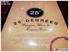 25 Degrees Burger @Pullman