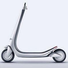 Scooter- Husky Design.  #industrialdesign #design #productdesign #inspiration #gooddesign
