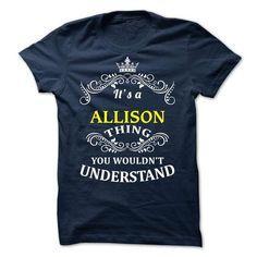 ALLISON -it is - #disney shirt #hoodie creepypasta. ACT QUICKLY => https://www.sunfrog.com/Valentines/-ALLISON-it-is.html?68278