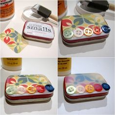 Do you save all of your used Altoids containers in the hopes of crafting with them? Shannon shows you how to decoupage a tiny tin using Dimensional Magic!