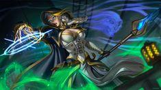Jaina Proudmoore fanart by Eva Solo Pinup Girl Artist World Of Warcraft, Warcraft Art, Warcraft Characters, Fantasy Characters, Female Characters, Character Modeling, Character Art, Character Ideas, Costumes
