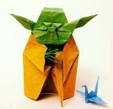 """Try not. Do, or do not. There is no try.""  I am still a padiwan of origami...I must work on my skills and become a Master."