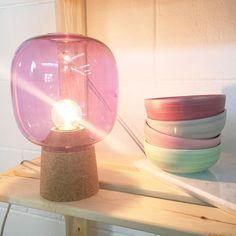 lamp and bowls by Università IUAV di Venezia graduate Enrico Zanolla