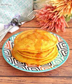 Aprende a preparar unos ricos, nutritivos y saludables hot cakes de camote. Con fotos del paso a paso y consejos de degustación