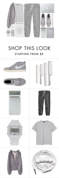 """Lazy"" by child-of-the-tropics ❤ liked on Polyvore featuring NIKE, Belkin, LEXON, American Eagle Outfitters, adidas, Monki and Urbanears"