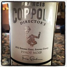 The Nittany Epicurean: Coppola Director's Sonoma Coast Pinot Noir