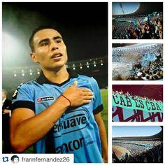 #GRACIASCHINO @frannfernandez26 with @repostapp.    #JuegaBelgrano #JuegaElViejoYGlorioso #ExplotaElKempes #BelgranoCopaElKempes #MareaCeleste #LocuraQueNoTieneExplicacion #Pirata #Alberdi #ElMasGrande No llenamos un estadio para demostrarlo. Somos el ejemplo perfecto de #Amor #Fidelidad #Pasión y #Locura. Hoy se nos va él un #Jugador - Hincha dentro de la cancha #GraciasChino #Crack #MuchaSuerte  http://ift.tt/1XJWkD0