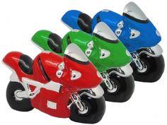 Regalo Hucha moto ceramica,Detalle Bautizo,Regalo Infantil,Regalo Bautizo,Regalo Comunion #Grandetalles