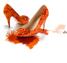 Brocadey orangeness