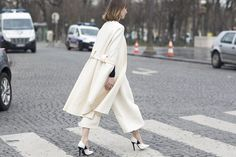 Couture Street Style Spring 2015 Paris
