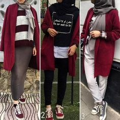 Trendy Ideas for fashion hijab casual maroon Trendy Ideas for fashion h. Trendy Ideas for fashion hijab casual maroon Trendy Ideas for fashion hijab casual maroon Street Hijab Fashion, Muslim Fashion, Modest Fashion, Fashion Outfits, Formal Fashion, Modest Clothing, Modest Dresses, Modest Outfits, Style Fashion