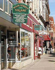 Antique stores line the street in Stillwater Minnesota Stillwater Minnesota, Minnesota Home, Antiques Value, Girlfriends Getaway, Vacation Places, Antique Stores, Weekend Trips, Main Street, The Good Place