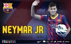 Barcelona Neymar JR Wallpaper 2013