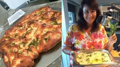 Hur får man till en perfekt pizzadeg? Det avslöjar Alexandra Zazzi i dagens program och hon bjuder även på focaccia.