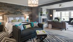 Houzz Makeover on The Ellen DeGeneres Show featuring Stikwood reclaimed wood wall paneling!