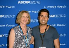 ASCAP's Sue Drew and songwriter Savan Kotecha