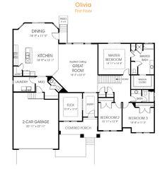 Rambler House Plans with Basements Legendary Model 3 bedroom 25