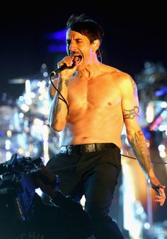 Anthony Kiedis of Red Hot Chili Peppers