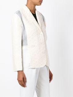 Nina Ricci panelled tweed blazer