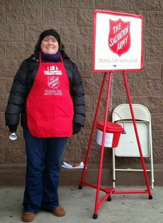 Ringing Bells for Salvation Army