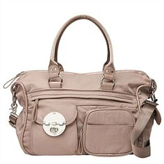Mimco Lucid Baby Bag in stone $249
