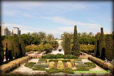 Turia River Gardens. Valencia, Spain.    www.valenciabusturistic.com