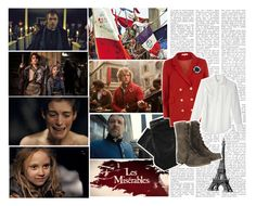 """Do you hear the people sing? Singing the song of angry men."" by paraders ❤ liked on Polyvore featuring Denham, Dorothy Perkins, Equipment, AllSaints, enjolras, samantha banks, les mis, les miserables, my name is jean valjean and innkeeper"