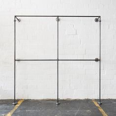 Clothes stand - open closet - wardrobe - clothing rail - industrial design - steel pipes - TWO x TWO - Bricolage Kleidung Upcycle Open Wardrobe, Wardrobe Closet, Wardrobe Clothing, Steel Wardrobe, Clothes Stand, Clothes Rail, Metal Clothes Rack, Standing Coat Rack, Shop Fittings