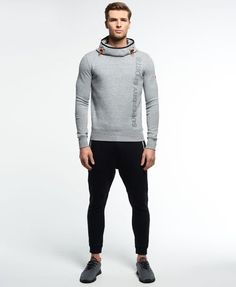 Superdry Gym Tech Funnel Hoodie