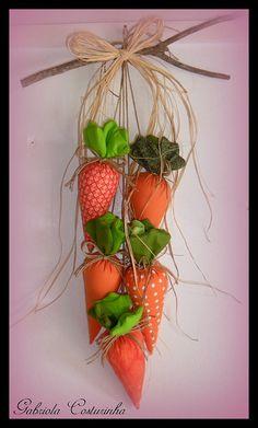 Móbile de Cenouras