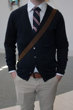 prep school chic...it's the male version of the sexy schoolgirl.