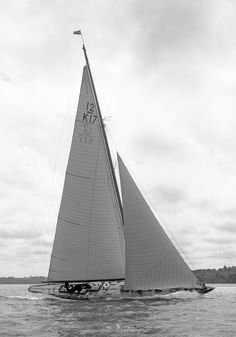 """Blue Marlin"", 1937 Camper & Nicholson International 12 Metres"