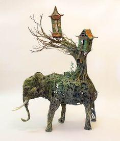 Creatures – 16 nouvelles sculptures fantasmagoriques d'Ellen Jewett (image)