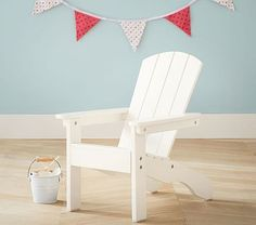 Simply White Adirondack Chair #pbkids