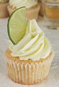 Margarita Cupcakes #recipe