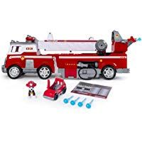 PAW Patrol - Ultimate Rescue Fire Truck with Extendable 2 Foot Tall Ladder, Ages 3 and out of 5 stars via 607 ratings See Buy Options in Toys & Games Toy Trucks, Fire Trucks, Tall Ladder, Paw Patrol Toys, Trucks Only, Into The Fire, Top Toys, And So The Adventure Begins, Toys For Boys
