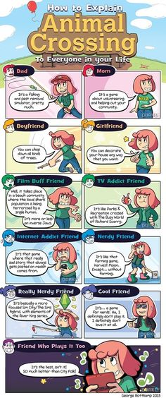 The Easiest Way to Explain Animal Crossing to Everyone in Your Life