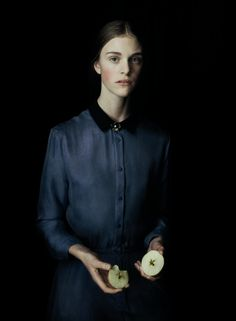 Girl With an Apple, Acne Paper, 2011