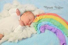 ©Mariah Wallace Photography - Newborn Photography #mariahwallacephotography #newbornphotography #newborn #rainbowbaby