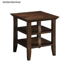 #Ebay #Wood #End #Table #2 #Shelves #Sturdy #Design #Stylish #Storage #Brown #Pine #Sofa #Armchair