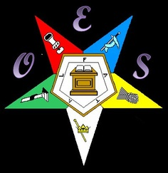 Order of the Eastern Star Chapter Symbol by Jade Cropley, via Flickr