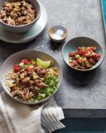Skinnytaste Fast and Slow: Slow Cooker Chicken Burrito Bowls