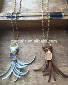 N15050603 Rosary Chain Agate Druzy Pendant Necklace Gray Or Brown Knot Leather Fringe Tassel Necklace , Find Complete Details about N15050603 Rosary Chain Agate Druzy Pendant Necklace Gray Or Brown Knot Leather Fringe Tassel Necklace,Rosary Chain Necklace,Knot Leather Necklace,Agate Druzy Pendant Necklace from -Guangzhou Mudulla Commodity Co., Ltd. Supplier or Manufacturer on Alibaba.com