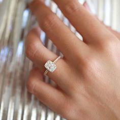 Elongated diamonds are very popular as of late. Embellished with a gorgeous side stone setting 2 Carat Engagement Ring, Ruby Engagement Ring Vintage, Radiant Cut Engagement Rings, Square Engagement Rings, Princess Cut Engagement Rings, Beautiful Engagement Rings, Cushion Cut Engagement Rings, Square Wedding Rings, Wedding Bands